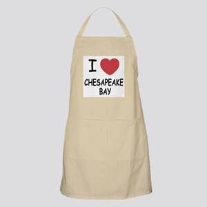 I heart chesapeake bay Apron