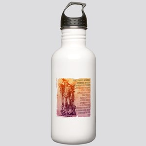 St. Michael Prayer in Latin Stainless Water Bottle