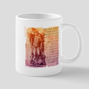 St. Michael Prayer in Latin Mug
