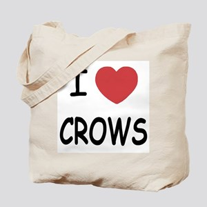 I heart crows Tote Bag
