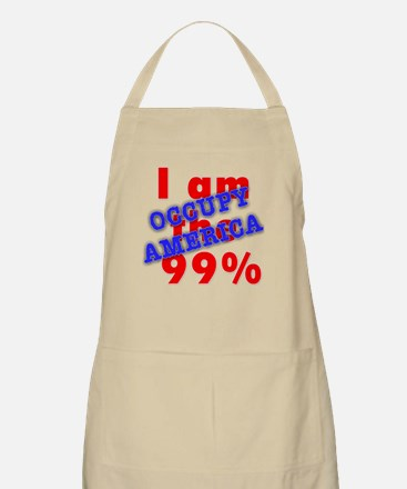 I am the 99% OCCUPY Apron