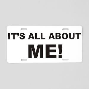 ME! Aluminum License Plate