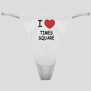 I heart times square Classic Thong