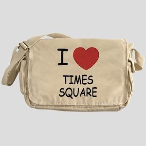 I heart times square Messenger Bag