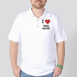 I heart times square Golf Shirt