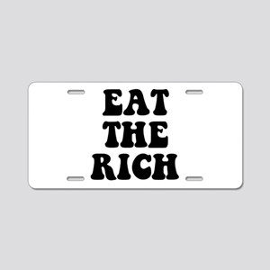 Eat The Rich Occupy Wall Street Protest Aluminum L