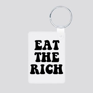 Eat The Rich Occupy Wall Street Protest Aluminum P