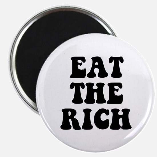 Eat The Rich Occupy Wall Street Protest Magnet