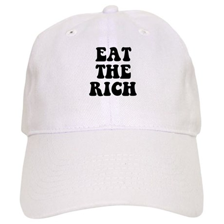 eae17b38cbe Eat The Rich Occupy Wall Street Protest Baseball Cap by ...