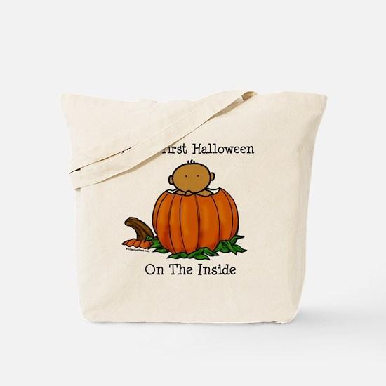 First Halloween inside (med) Tote Bag