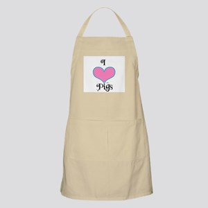 PIGS PINK HEART BBQ Apron