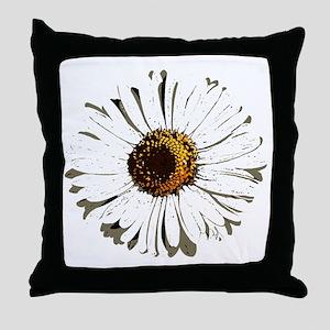 Vintage daisy - Lore M - Throw Pillow