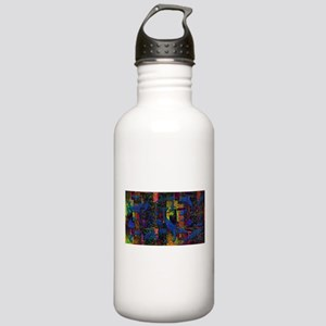 Abstract Ocean Life Art Stainless Water Bottle 1.0
