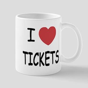 I heart tickets Mug