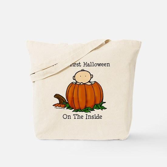 First Halloween inside (lt) Tote Bag