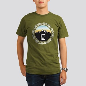 Kappa Sigma Sunset Organic Men's T-Shirt (dark)