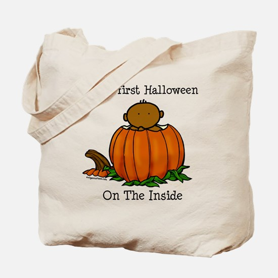 First Halloween inside (drk) Tote Bag