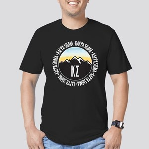 Kappa Sigma Sunset Men's Fitted T-Shirt (dark)