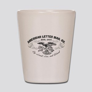 American Letter Mail Co Shot Glass