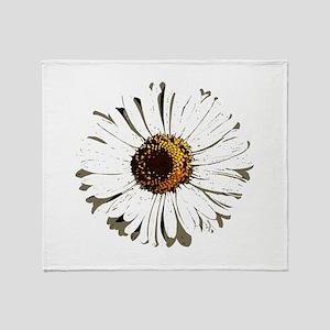 Vintage daisy - Lore M - Throw Blanket