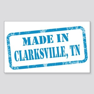 MADE IN CLARKSVILLE Sticker (Rectangle)