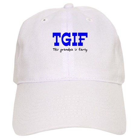 TGIF This Grandpa is Fun Cap