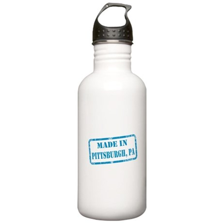 MADE IN PITTSBURGH Stainless Water Bottle 1.0L