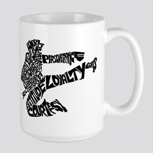 LIFE SKILLS KICKER Large Mug