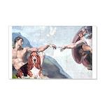 Creation & Basset 20x12 Wall Decal