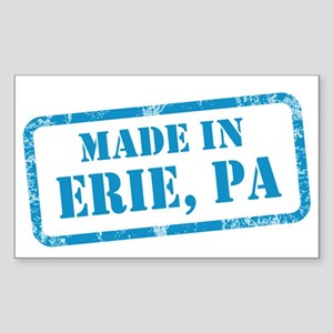 MADE IN ERIE Sticker (Rectangle)