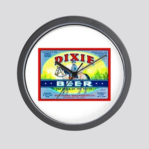 North Carolina Beer Label 1 Wall Clock