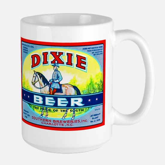 North Carolina Beer Label 1 Large Mug