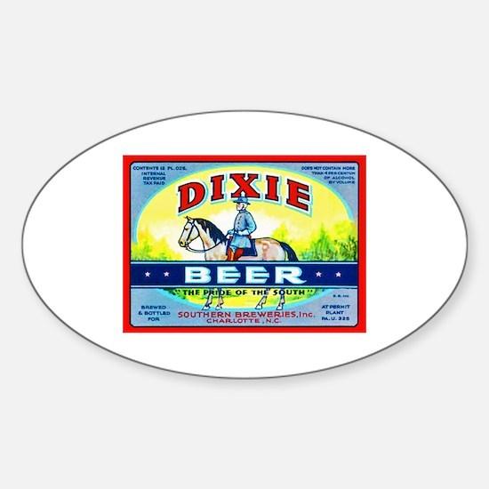 North Carolina Beer Label 1 Sticker (Oval)