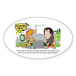 Tarzan MD - Baobab Edema Sticker (Oval)