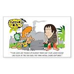 Tarzan MD - Baobab Edema Sticker (Rectangle)