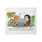 Tarzan MD - Baobab Edema Throw Blanket
