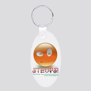 STEUPS Aluminum Oval Keychain