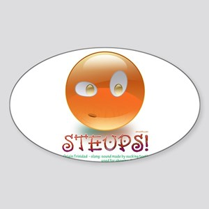 STEUPS Sticker (Oval)