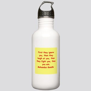 gandhi quote Stainless Water Bottle 1.0L