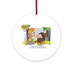 Tarzan MD - Smoking Twigs Ornament (Round)