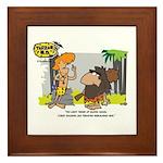 Tarzan MD - Smoking Twigs Framed Tile
