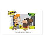 Tarzan MD - Smoking Twigs Sticker (Rectangle)