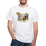 Tarzan MD - Smoking Twigs White T-Shirt