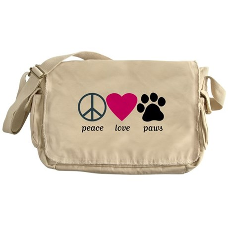 Dogs Messenger Bags