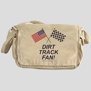 Dirt Track Fan Messenger Bag
