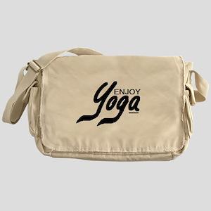 Enjoy Yoga Messenger Bag