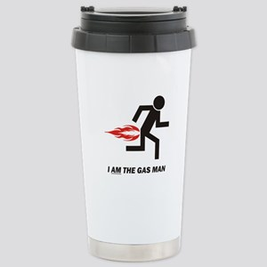 Gas Man Stainless Steel Travel Mug