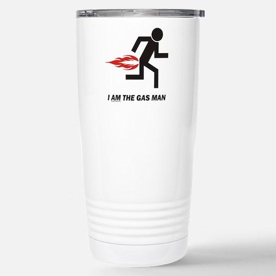 Gas Man Stainless Steel Travel Mug