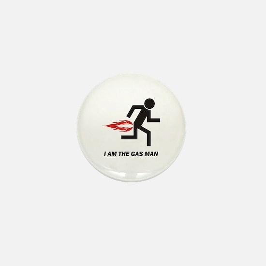 Gas Man Mini Button
