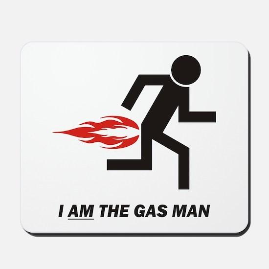 Gas Man Mousepad